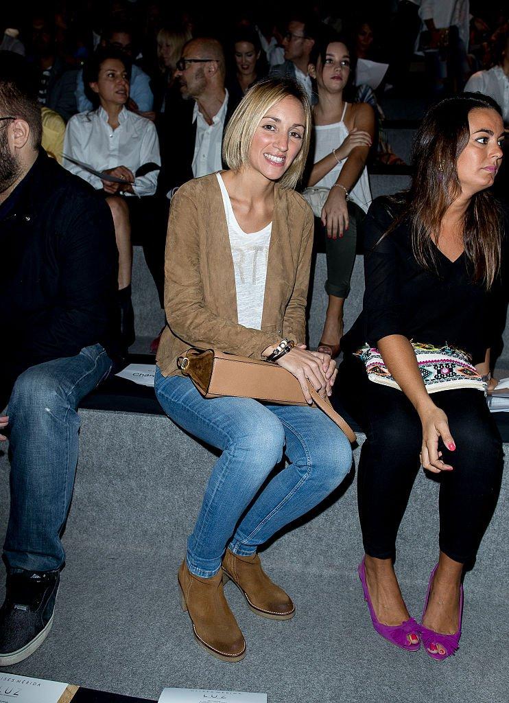 Mariona Saperas asistió a Mercedes-Benz Fashion Week Madrid.   Fuente: Getty Images