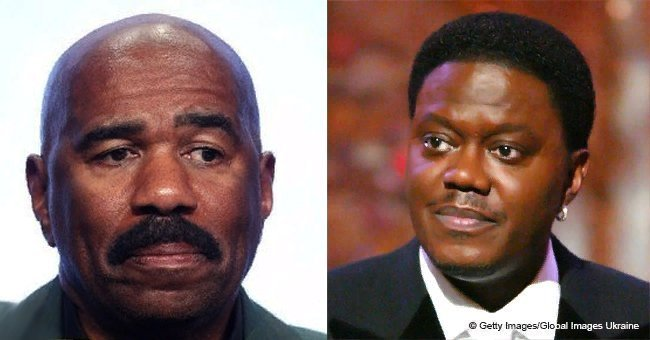 Steve Harvey shares touching photo & message in honor of Bernie Mac 10 years after his death