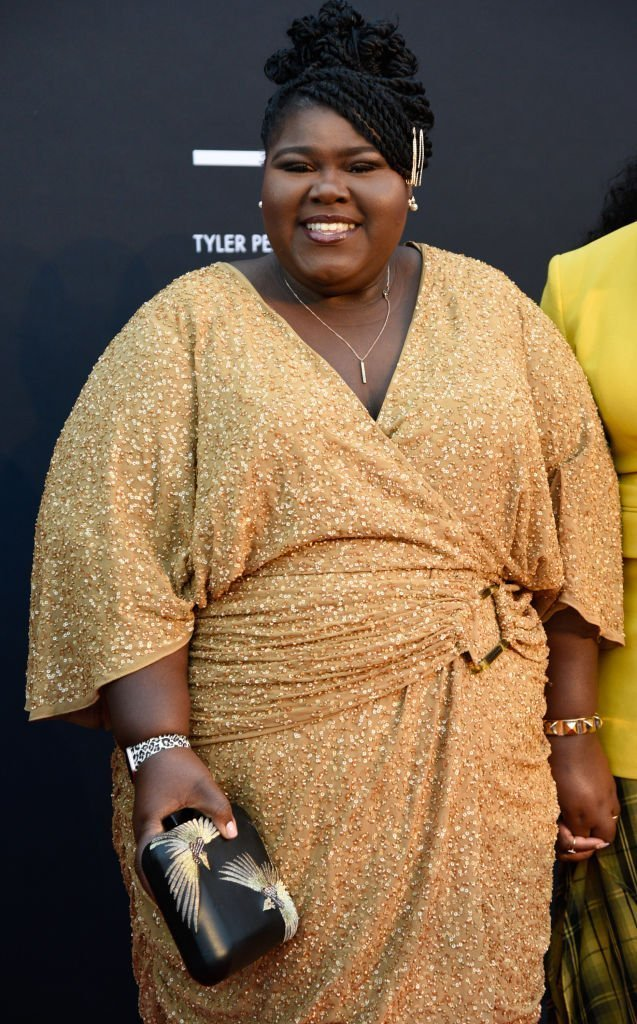 Gabourey Sidibe attends the Tyler Perry Studios grand opening gala   Photo: Getty Images