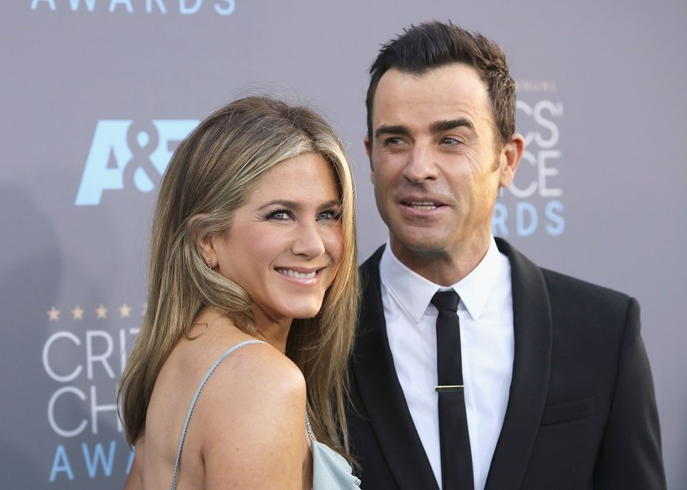 Jennifer Aniston and Justin Theroux attending the 21st Annual Critics' Choice Awards at Barker Hangar in Santa Monica, California in January 2016. | Image: Getty Images.