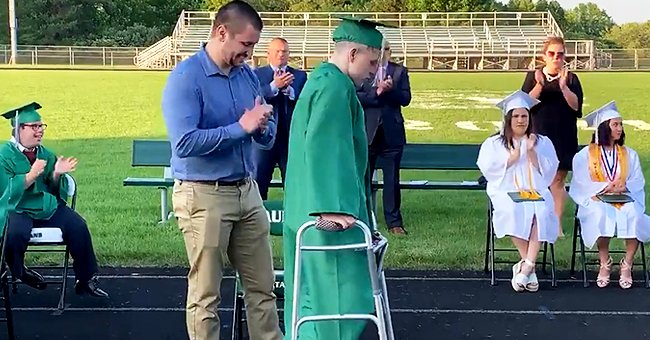 Pittsburgh Student Gets Loud Applause Walking at Graduation after Being Paralyzed 3 Years Ago