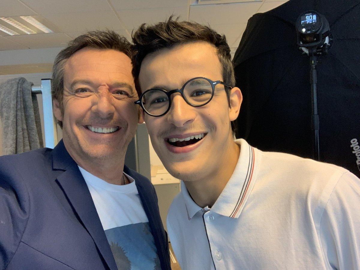 La photo de Jean-Luc Reichmann avec Paul | Source: Twitter, Jean-Luc Reichmann