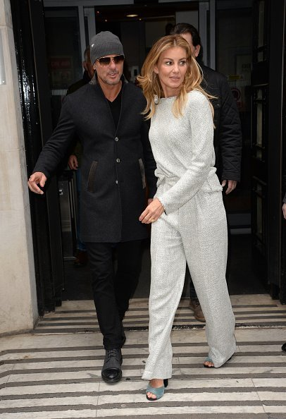 Faith Hill and Tim McGraw sighting at The BBC in London, England | Photo: Getty Images