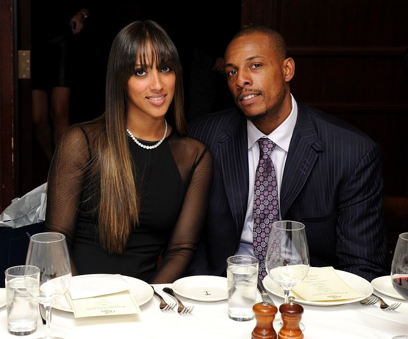 Julie Pierce and Paul Pierce on October 21, 2013 in New York City | Photo: Getty Images