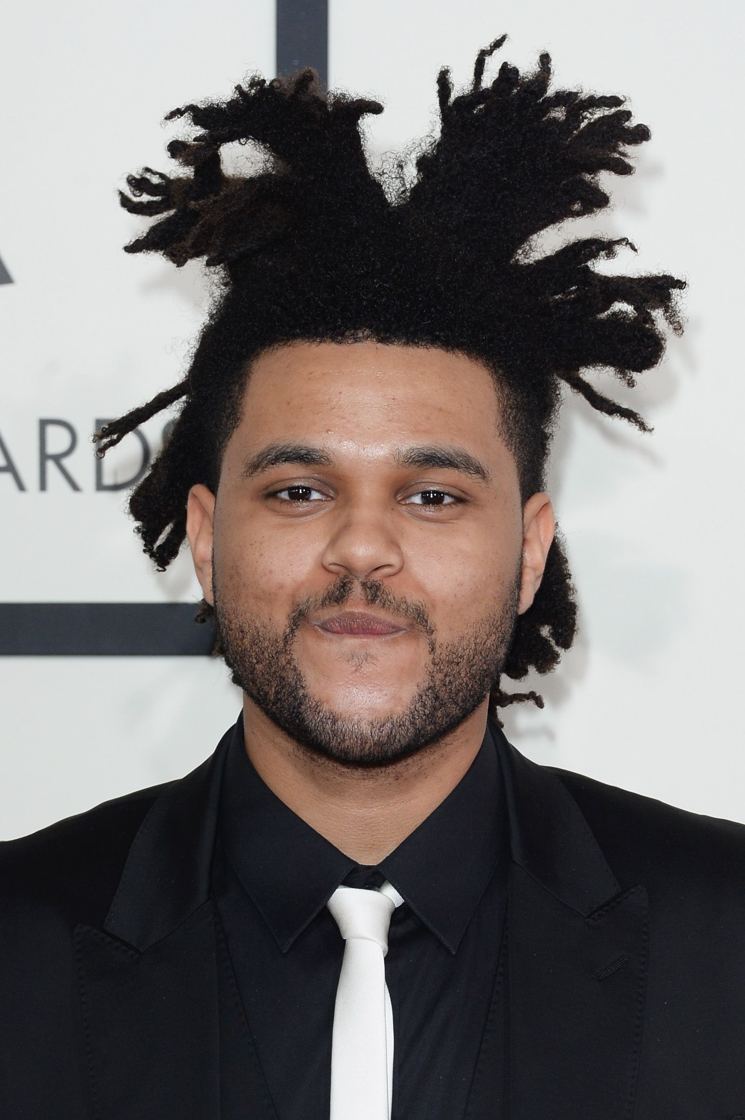 Abel Tesfaye of The Weeknd at the 56th GRAMMY Awards in January 2014 in Los Angeles | Source: Getty Images
