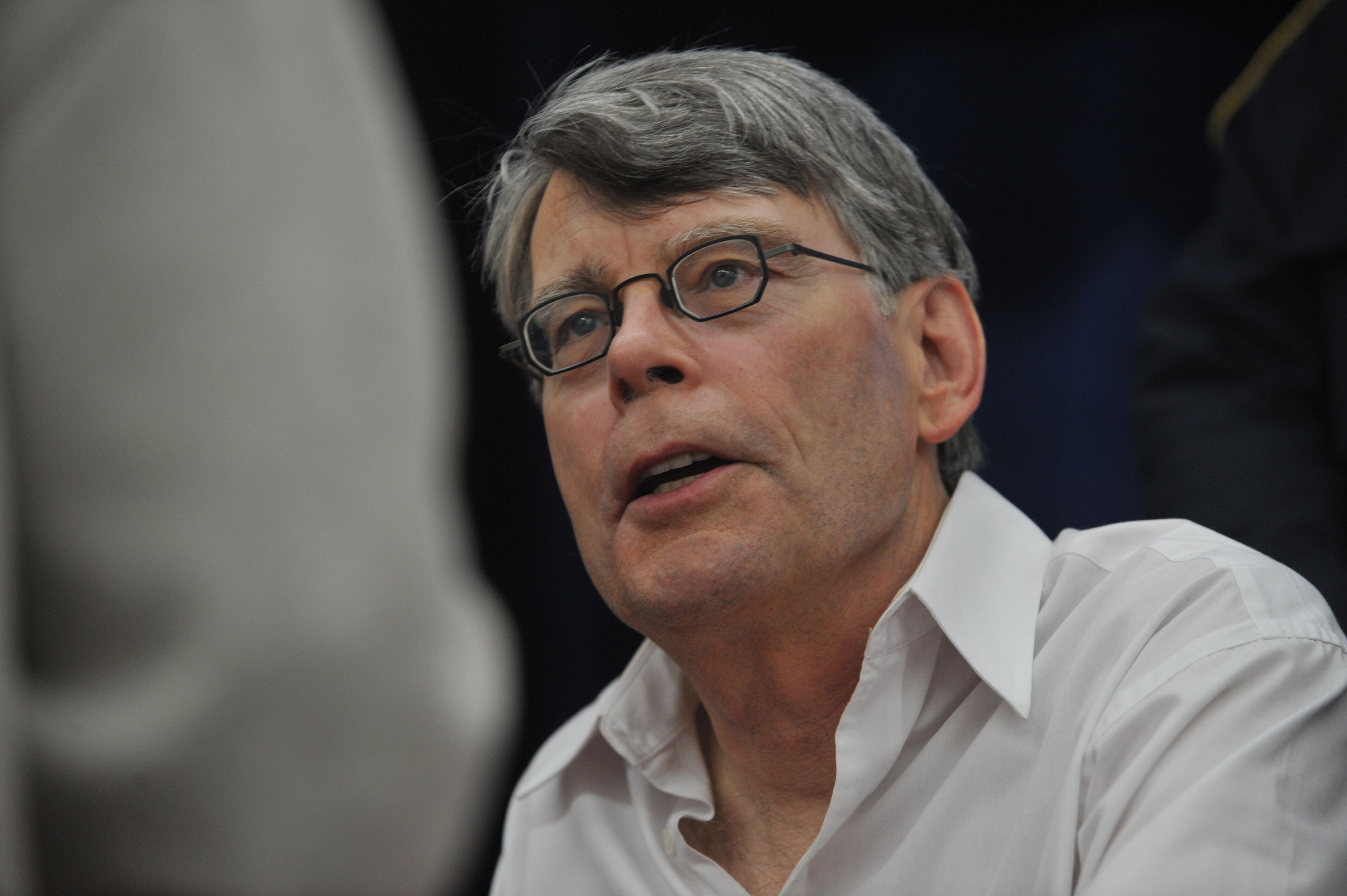 L'incroyable Stephen King. l Source : Getty Images