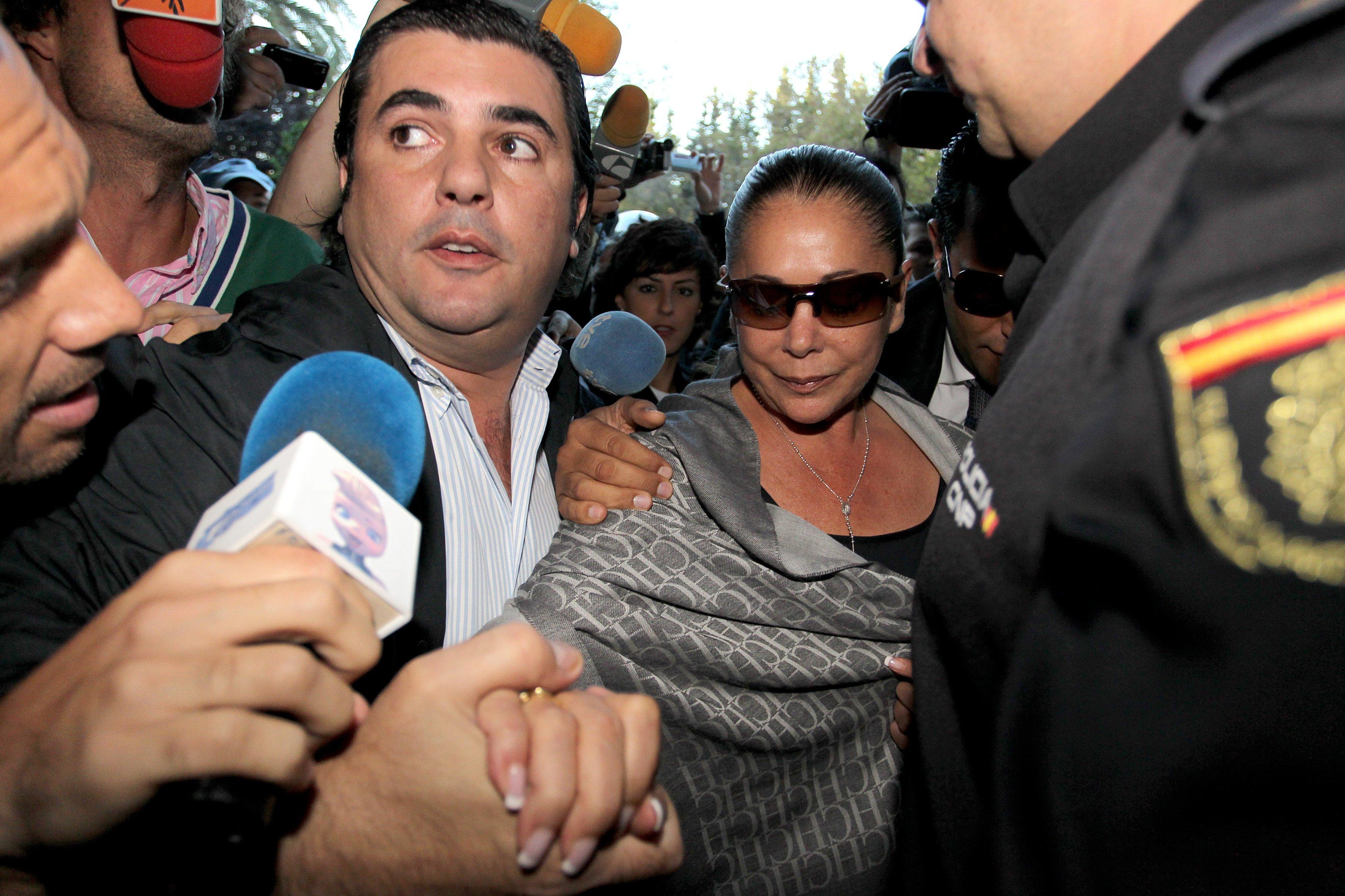 Isabel Pantoja asiste a juicio de corrupción por el caso Malaya en 2014. | Foto: Getty Images