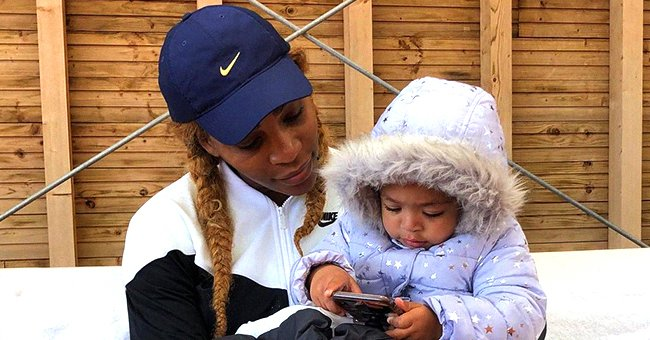 Serena Williams' Daughter Olympia, 3, Can Now Write Her Name — Look at Her Cute Handwriting