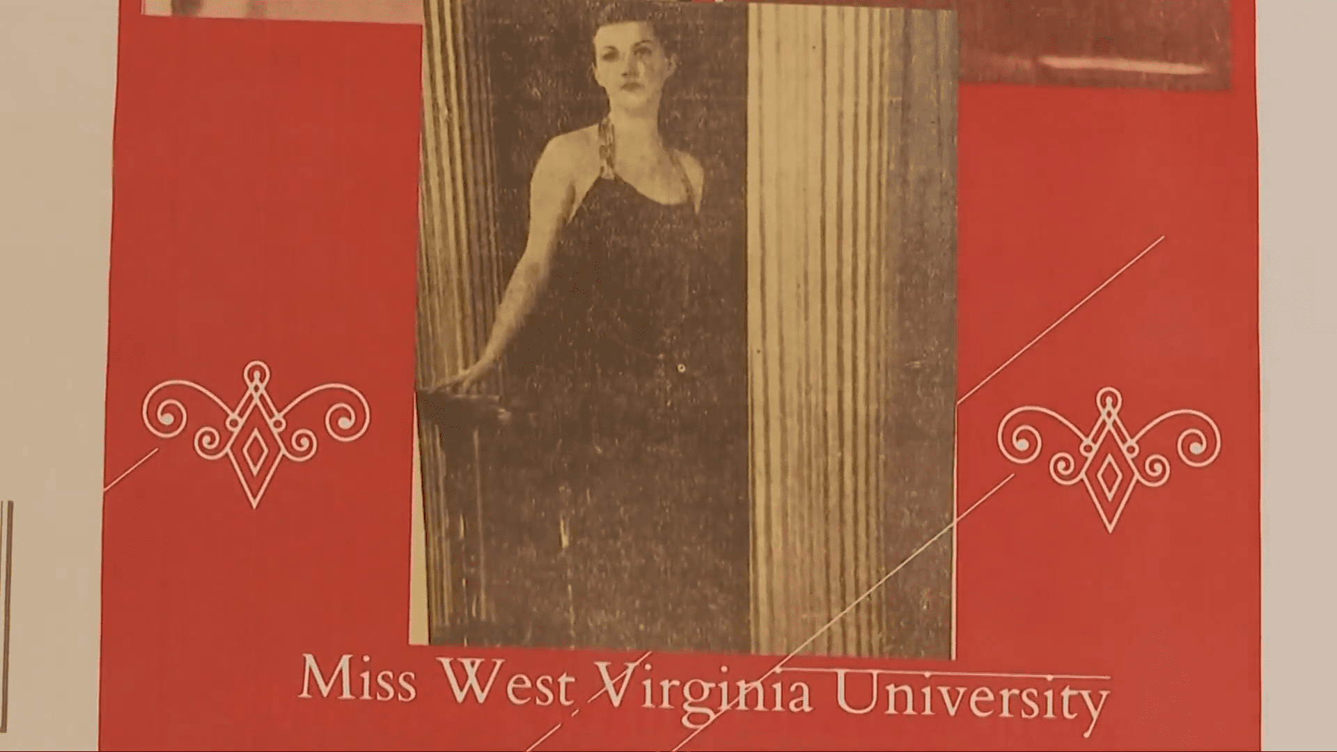A picture of  now-110-year-old Alma Kahl when she was younger as Miss West Virginia University.    Source: WOWK 13 News