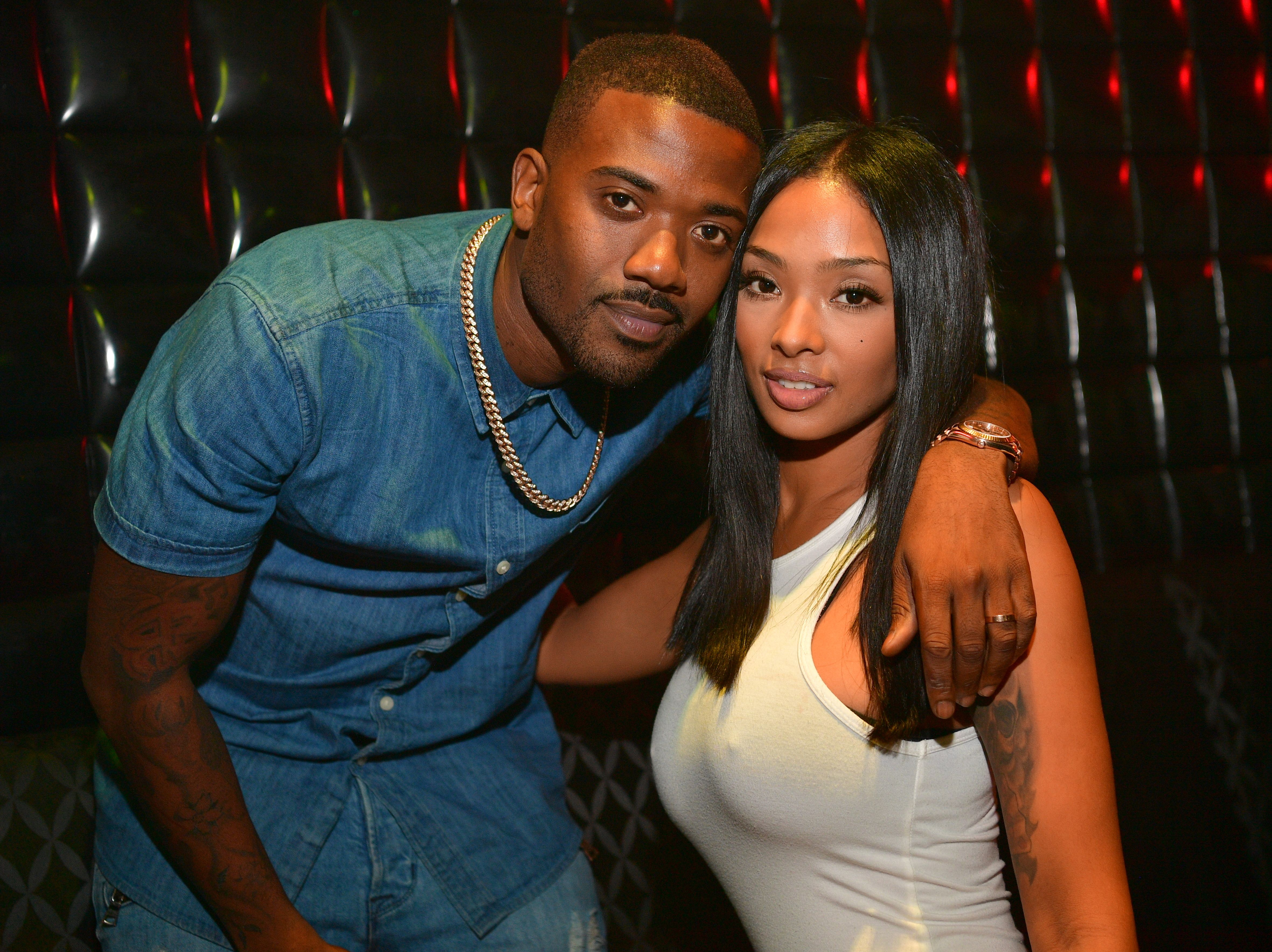 Ray J and Princess Love during a Hairshow After party at Medusa on August 21, 2016 in Atlanta, Georgia.   Source: Getty Images