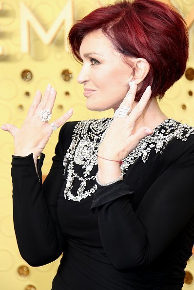 Sharon Osbourne at the 71st Emmy Awards at Microsoft Theater on September 22, 2019 | Photo: Getty Images