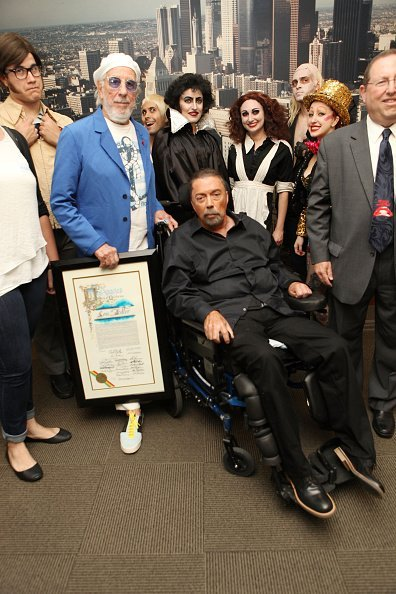 Tim Curry at Los Angeles City Hall on October 30, 2015 in Los Angeles, California | Photo: Getty Images
