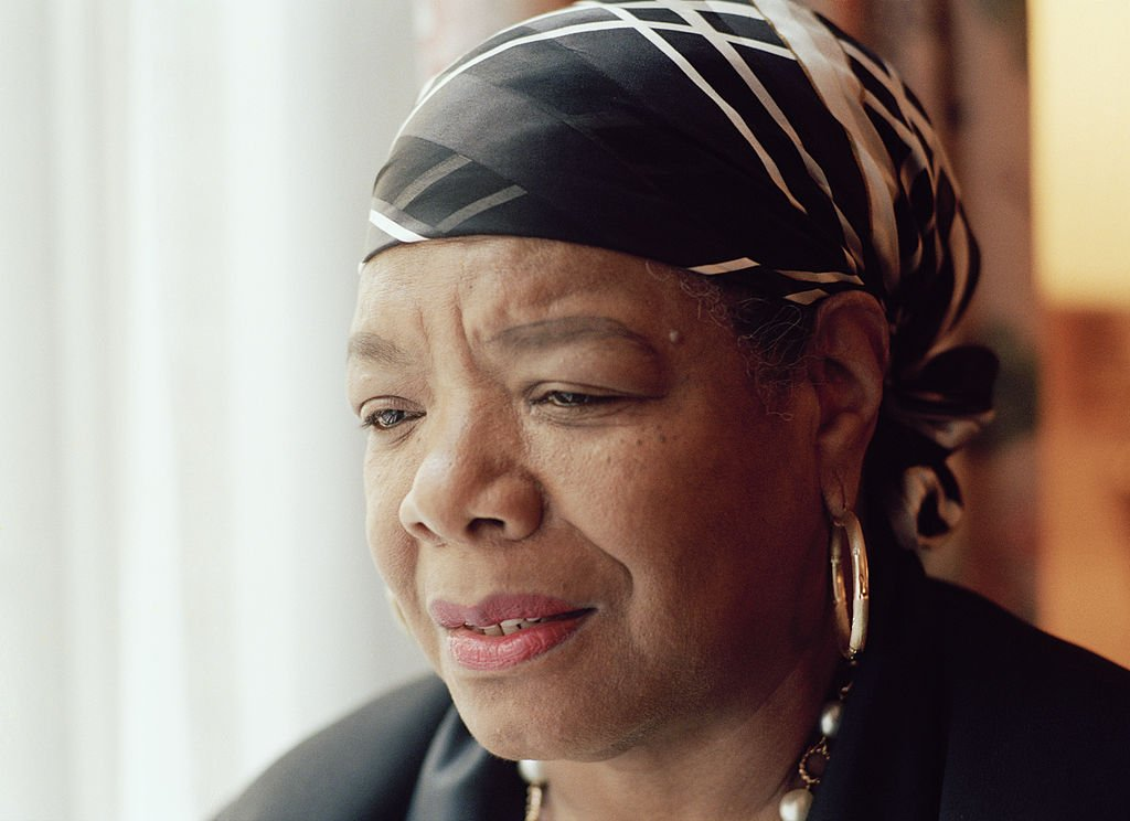 American writer and poet Maya Angelou in New York City, April 1994. | Photo: Getty Images