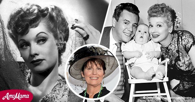 Lucille Ball's daughter is already 67 years old and is following in her mother's footsteps