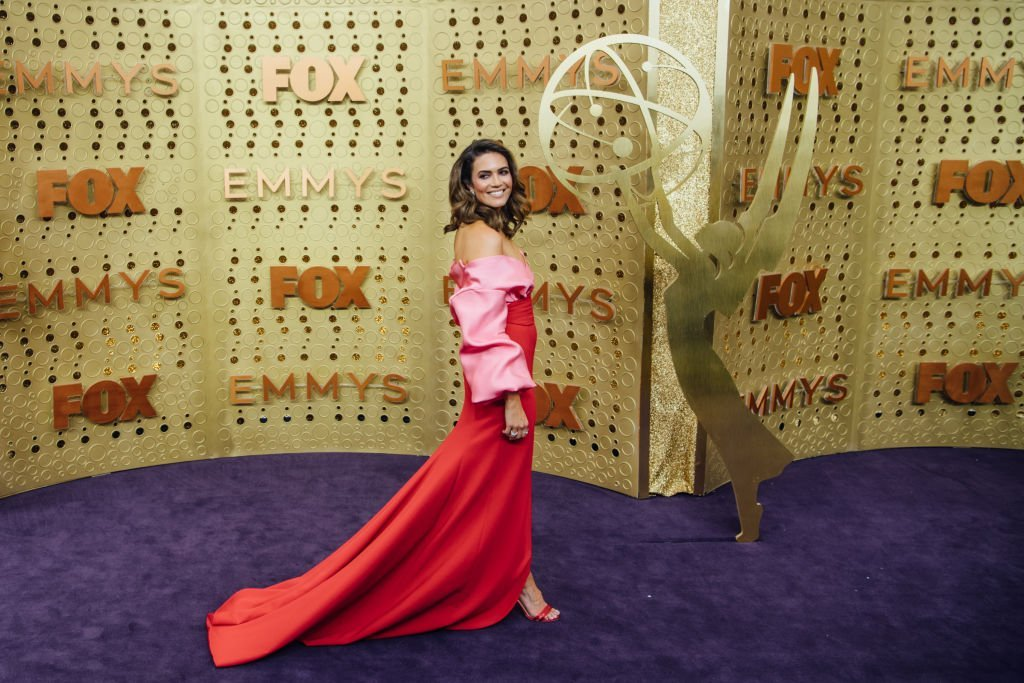 Mandy Moore arrives at the 71st Emmy Awards | Getty Images