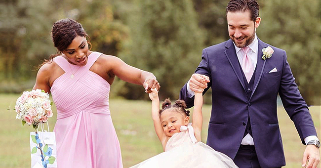 Serena Williams Posts Adorable Pics of Daughter Olympia Rocking Pink Tulle Dress as a Flower Girl