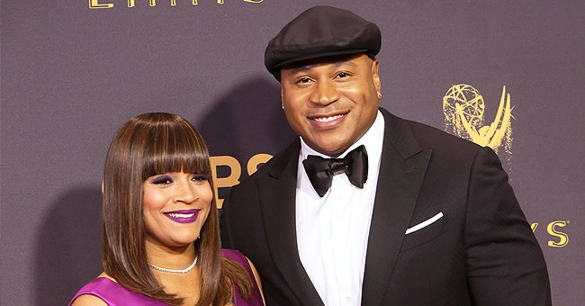 Ll Cool J's Wife of 25 Years Simone Smith Defies Her Age in a Leopard Jacket & Ripped Pants