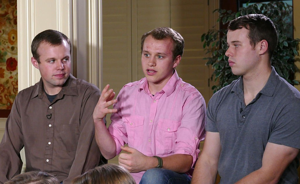 John David Duggar, Josiah Duggar and, Joseph Duggar from their Arkansas home, for an interview airing on GOOD MORNING AMERICA, Monday, March 14 , 2016. | Photo:Getty Images