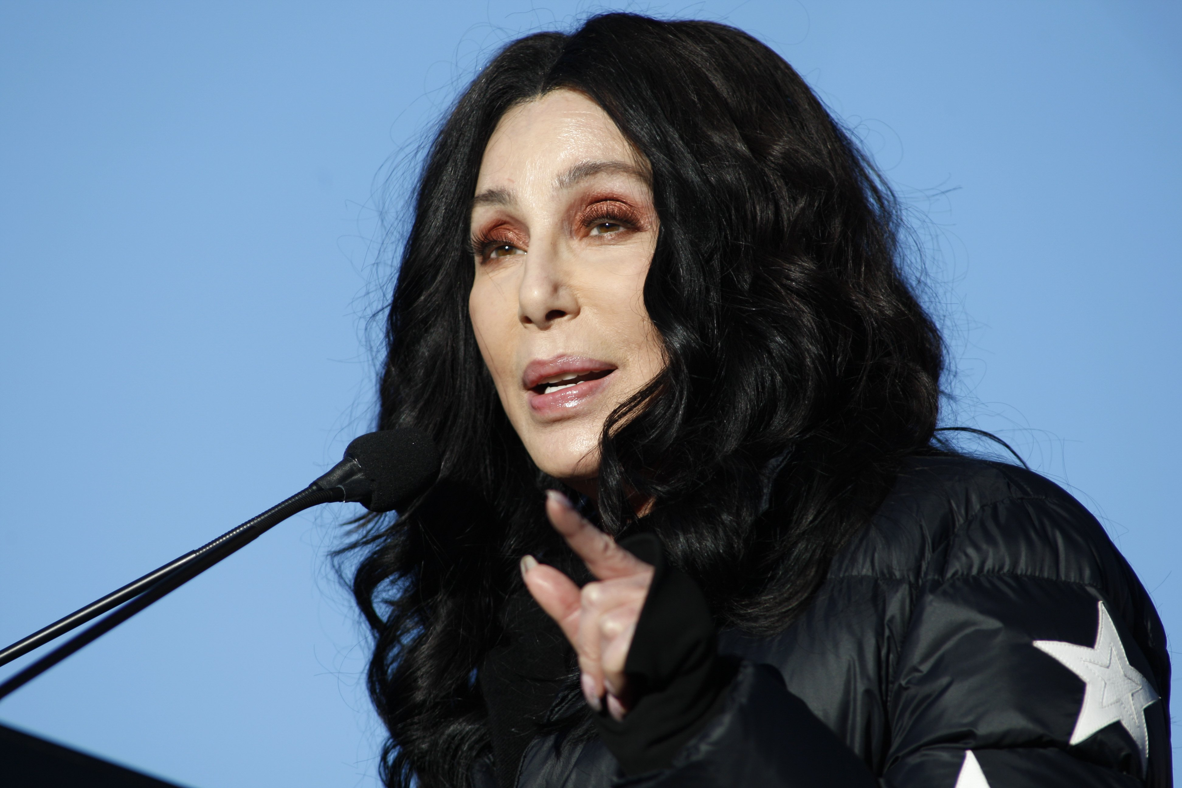 Cher on January 21, 2018, in Las Vegas, Nevada   Source: Getty Images