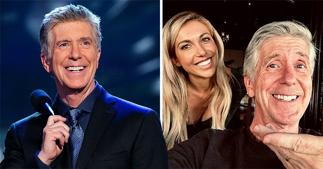 Tom Bergeron Looks Radiant Posing with NFL Anchor Taylor Bisciotti Following His Dwts Exit