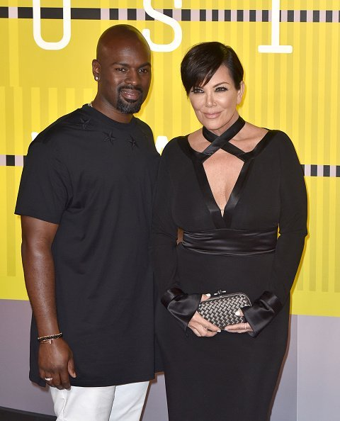 Corey Gamble and Kris Jenner at Microsoft Theater on August 30, 2015 in Los Angeles, California | Photo: Getty Images