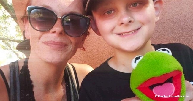 Ohio boy, 12, receives his last wish – to walk mom down the aisle before dying from cancer