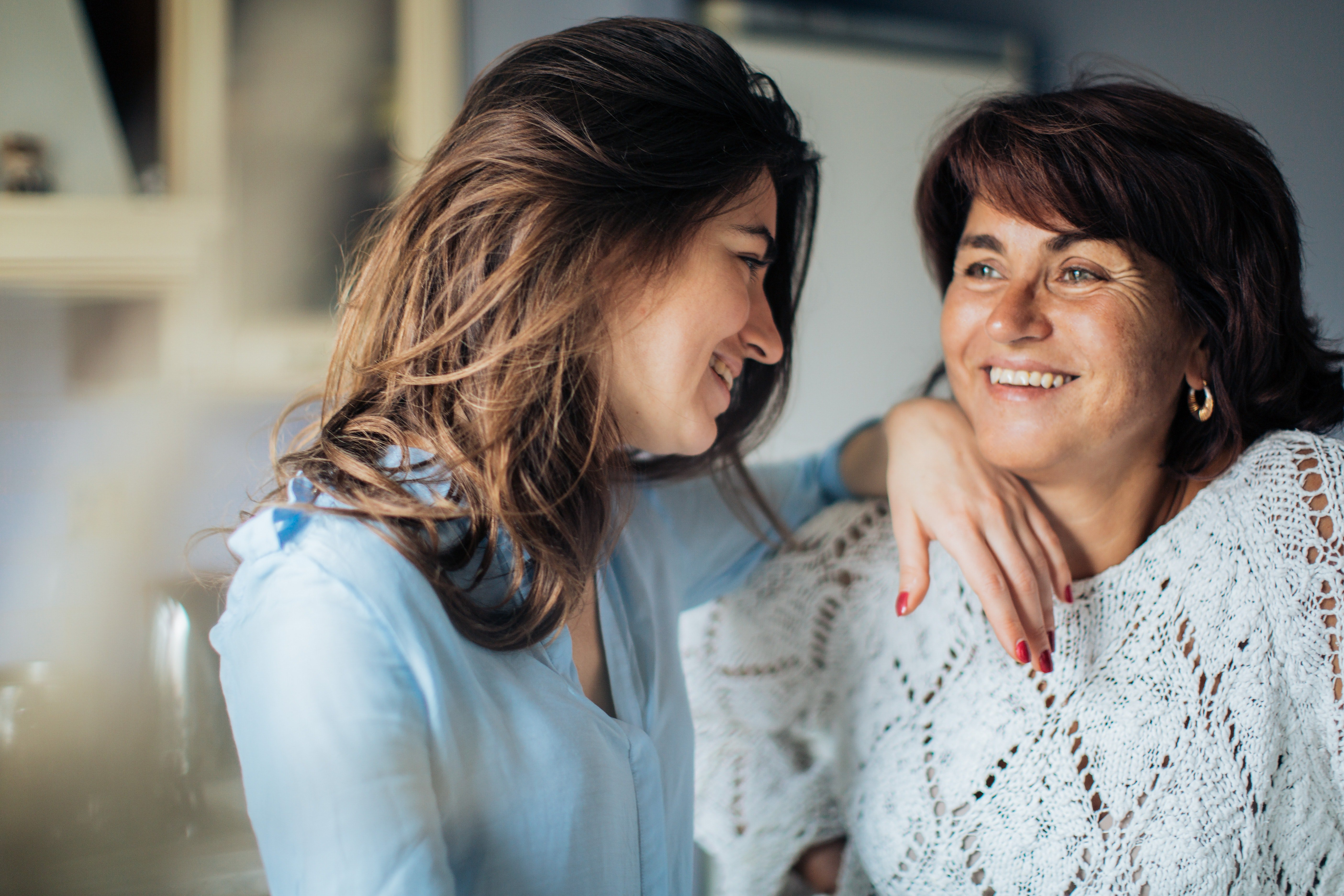 Olivia reunited with her mother | Photo: Pexels