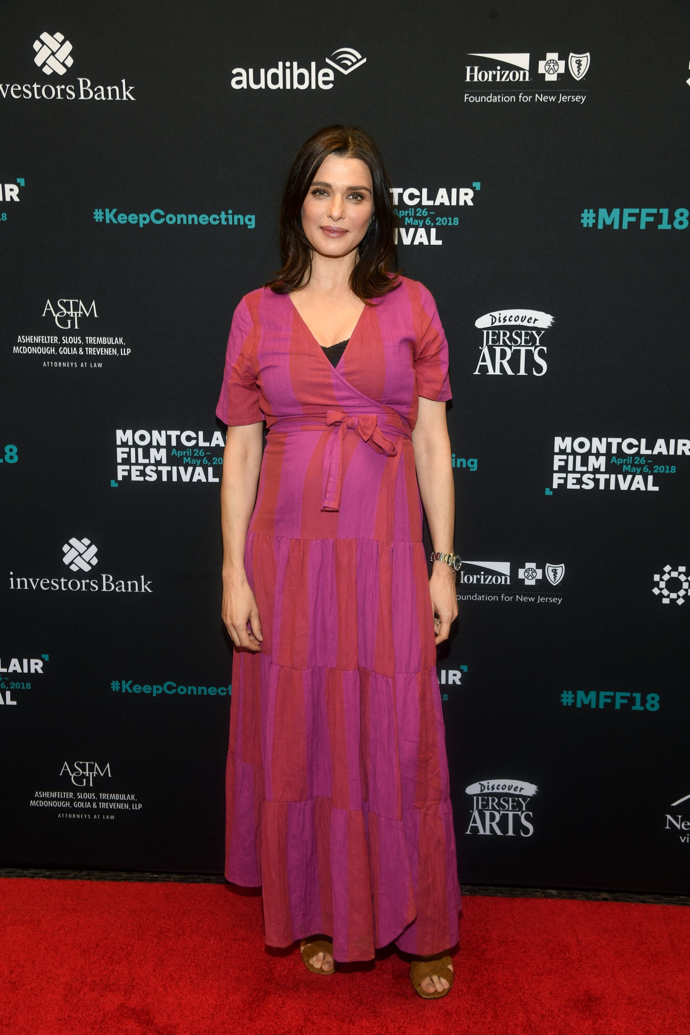 Rachel Weisz arrives at the Montclair Film Festival. | Source: Getty Images