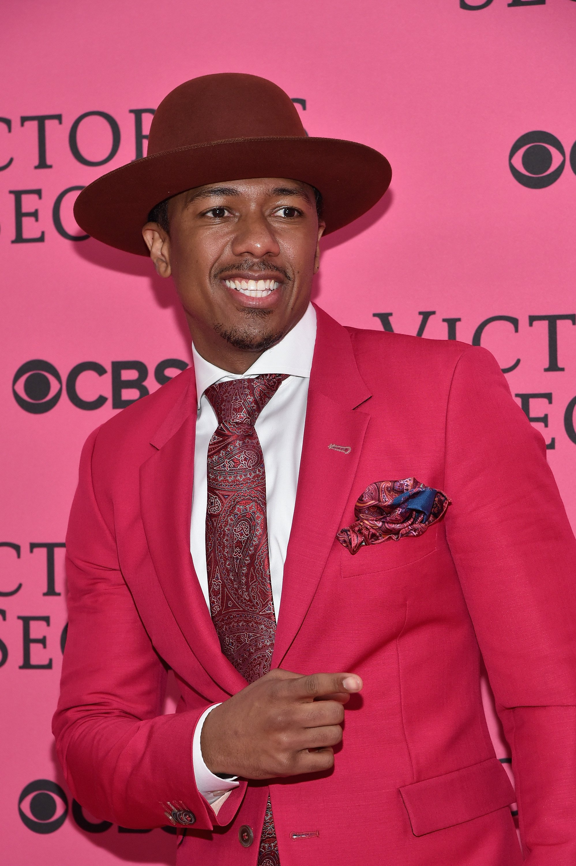 Nick Cannon poses at the 2015 Victoria's Secret Fashion Show on November 10, 2015 in New York City. | Source: Getty Images
