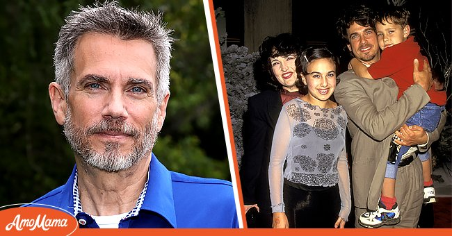 Pictures of actor Robby Benson with his family.   Photo: Getty Images