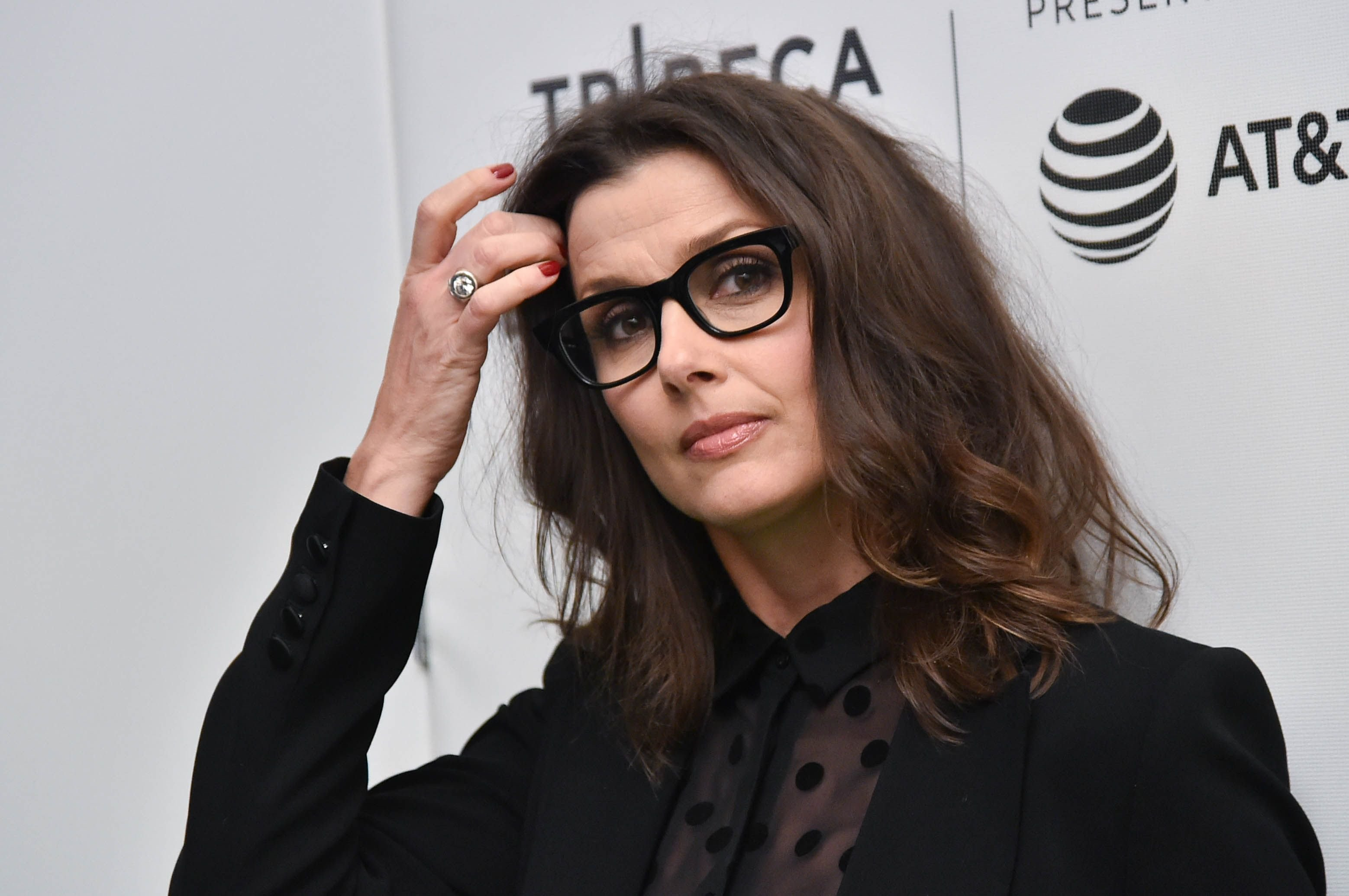 """Bridget Moynahan at """"From the Ashes"""" Premiere 2017 at the Tribeca Film Festival 