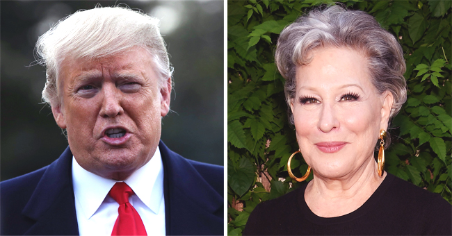 Donald Trump Sparks Heated Talk on Twitter after Calling Bette Midler a 'Washed-Up Psycho'