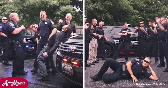 Police department's remarkable 'Footloose' performance went viral