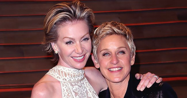 Ellen DeGeneres Films Wife Portia de Rossi as She Cooks in Their Kitchen & Fans Love It