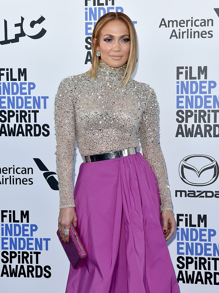 Jennifer Lopez attends the 2020 Film Independent Spirit Awards on February 08, 2020 in Santa Monica, California. | Image: Getty Images