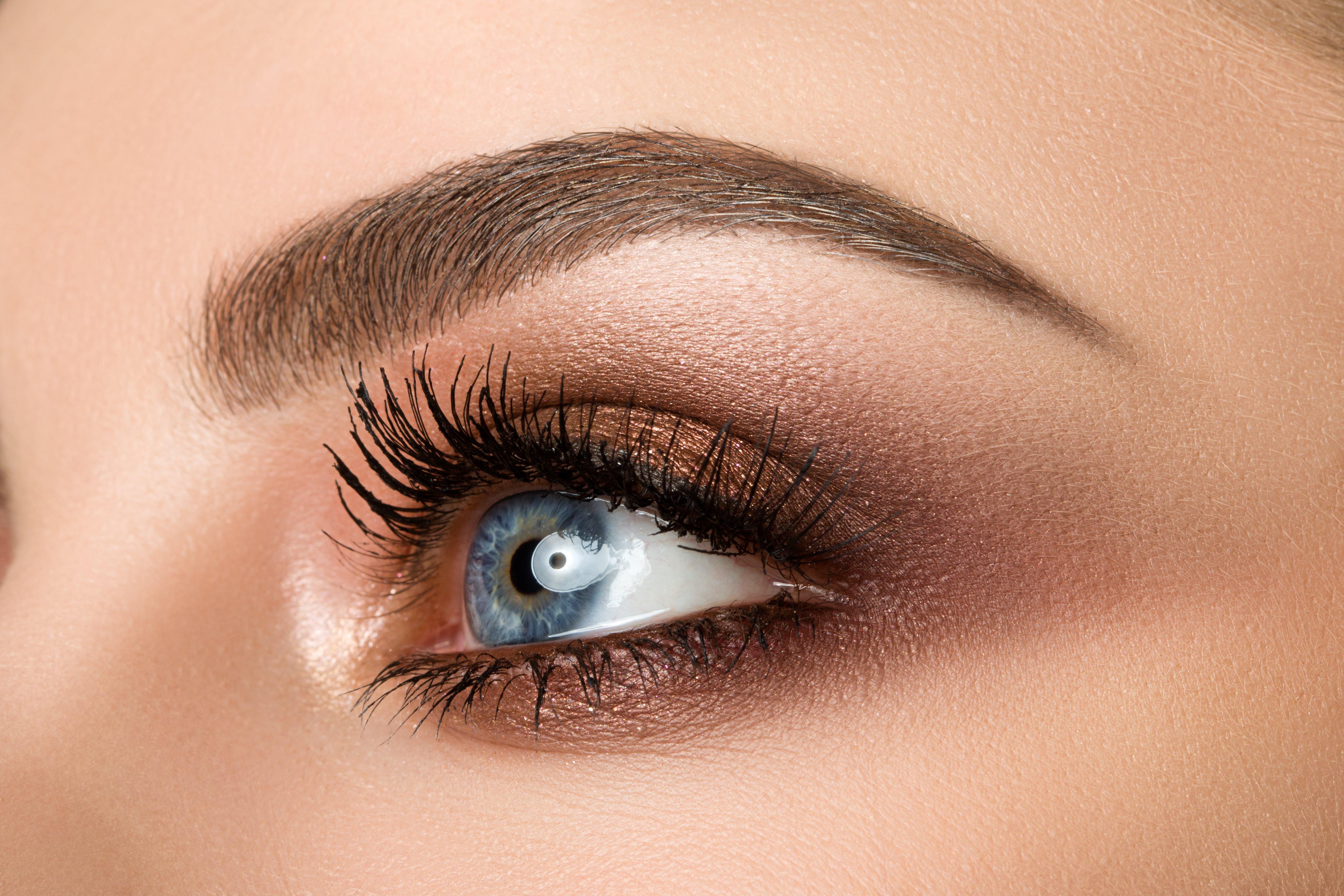 Mujer con cejas perfectas.   Foto: Shutterstock