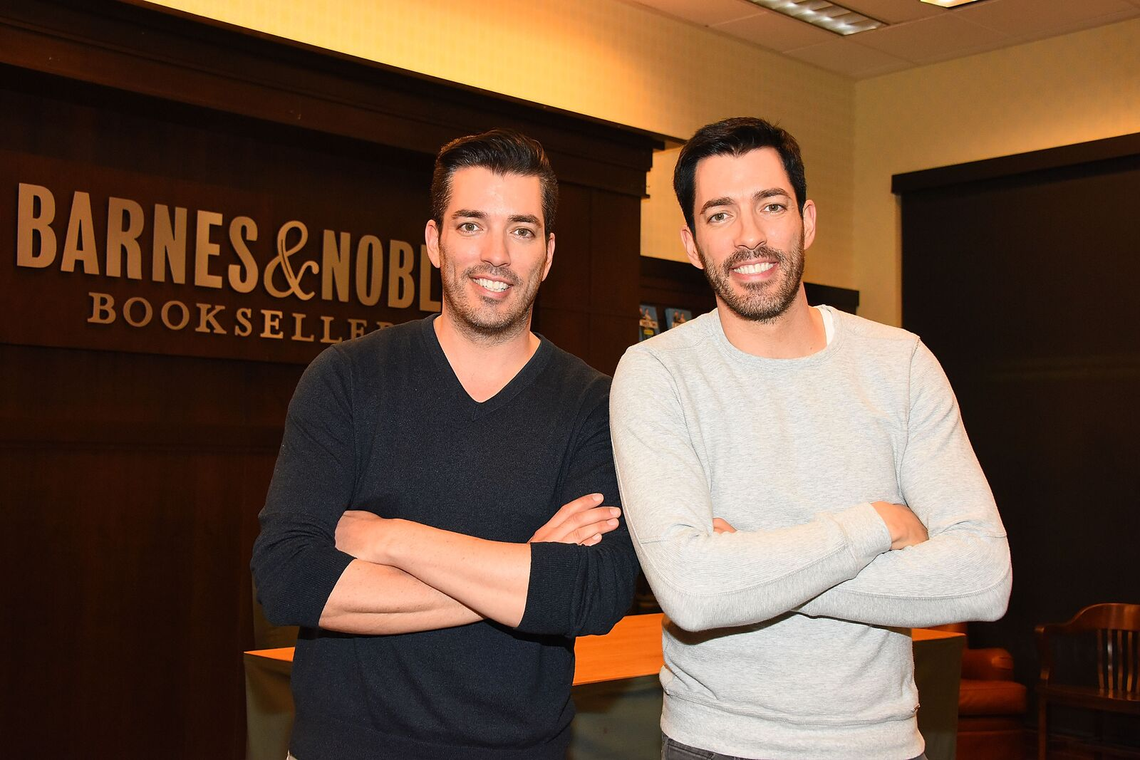"""Property Brothers"" Jonathan Scott and Drew Scott Book signing for ""It Takes Two: Our Story"" at Barnes & Noble at The Grove on October 11, 2017. 