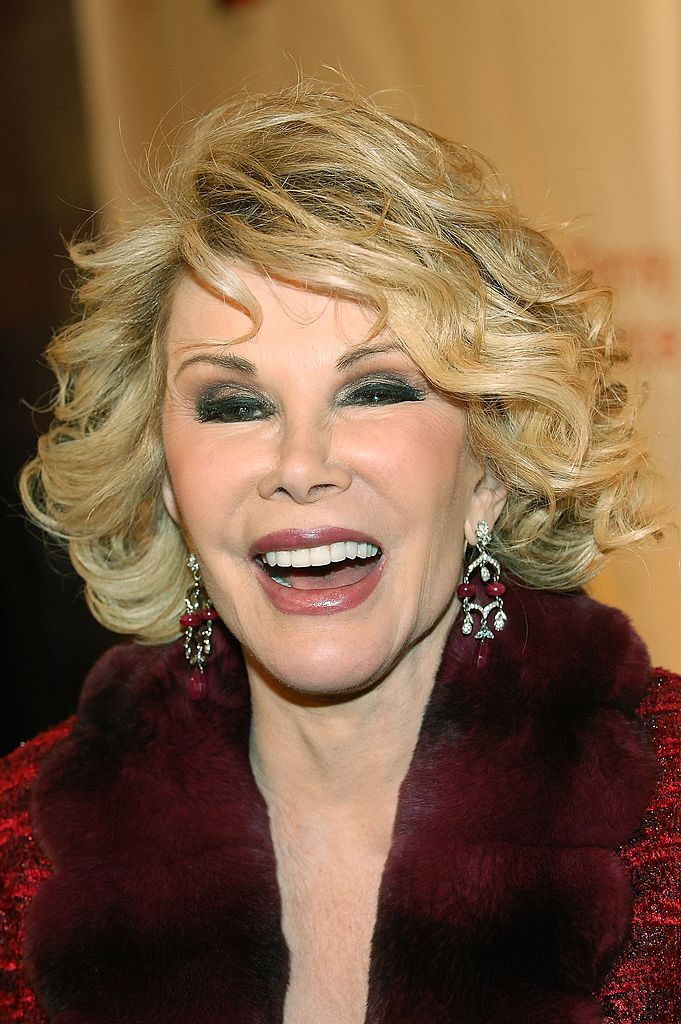Joan Rivers attends the opening of the JCPenny Experience in New York City on March 2, 2006 | Photo: Getty Images
