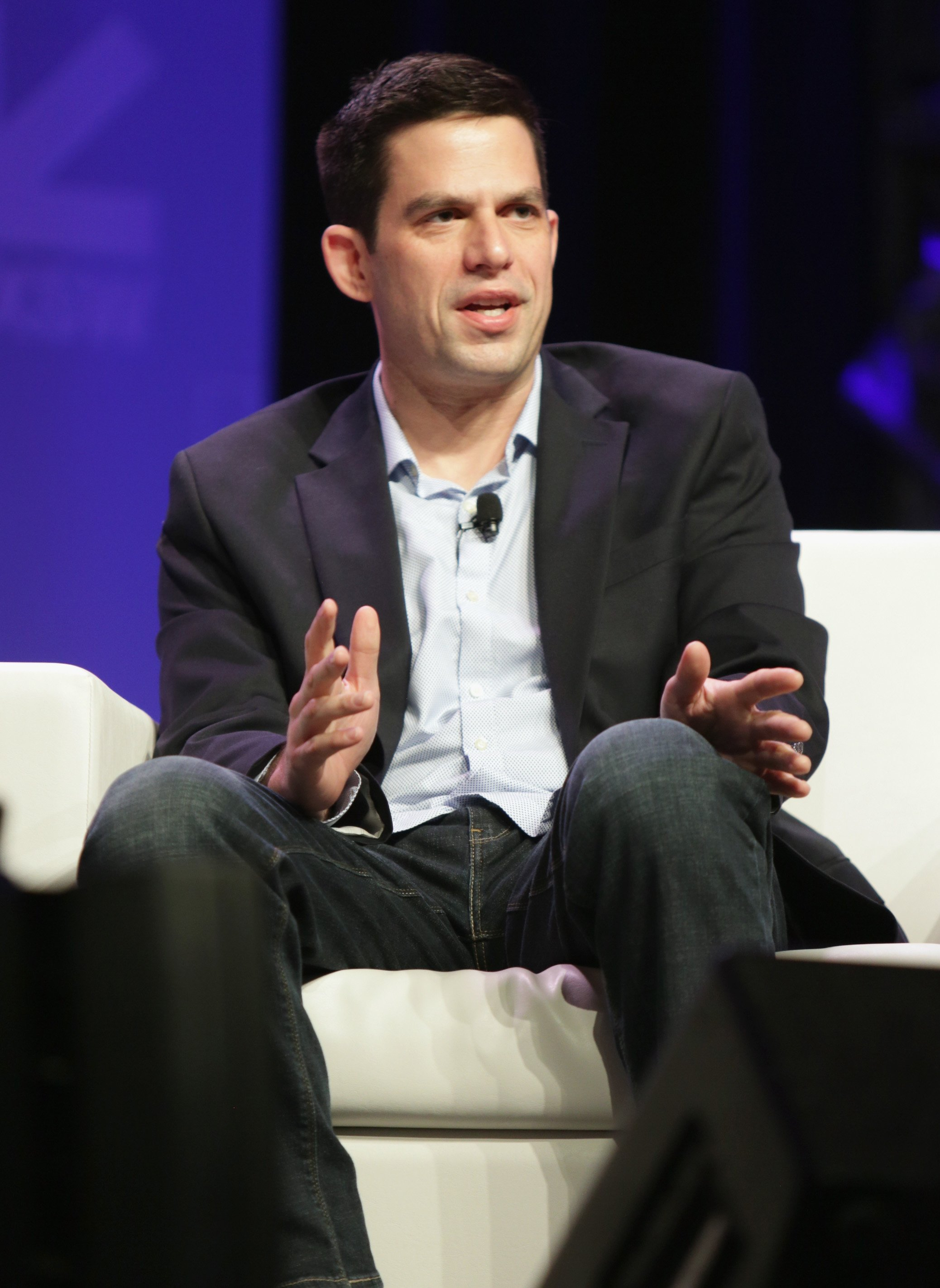 Lawyer Jeffrey Marty speaking at the SXSW Conference and Festivals in Texas in March 2017 | Photo: Getty Images