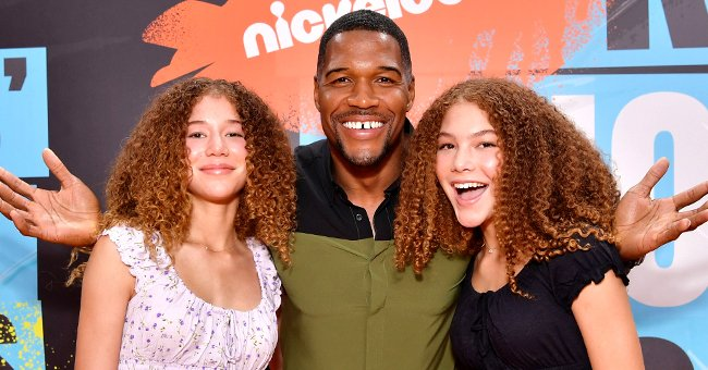 Michael Strahan's Twin Daughters Are Classy Duo Styled in Braided Hair in a New Photo