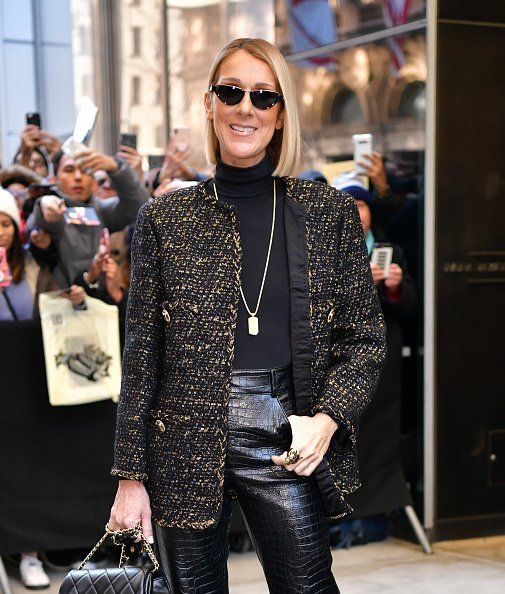 Celine Dion seen on the streets of Manhattan on November 15, 2019 in New York City | Photo: Getty Images