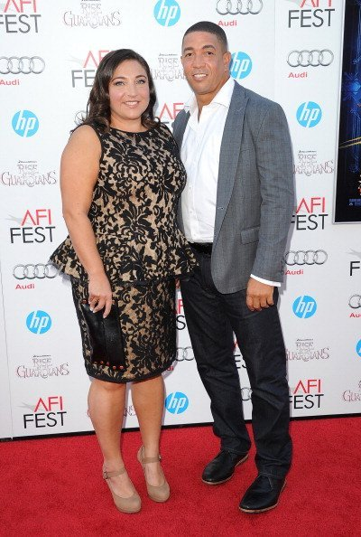 Jo Frost and Darrin Jackson at Grauman's Chinese Theatre on November 4, 2012 in Hollywood, California. | Photo: Getty Images