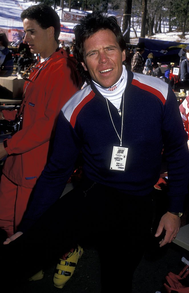 Actor Grant Goodeve attends Fifth Annual Steve Kanaly Celebrity Sports Invitational on February 7, 1988 at Mountain High Ski Resort in Wrightwood, California | Photo: Getty Images