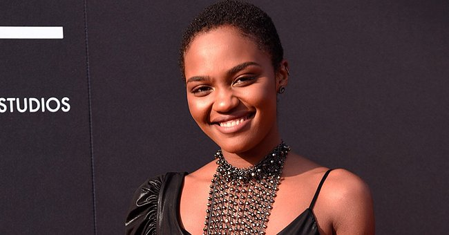 'House of Payne' Star China McClain Glows as She Flaunts Her Natural Beauty in a Velvet Top