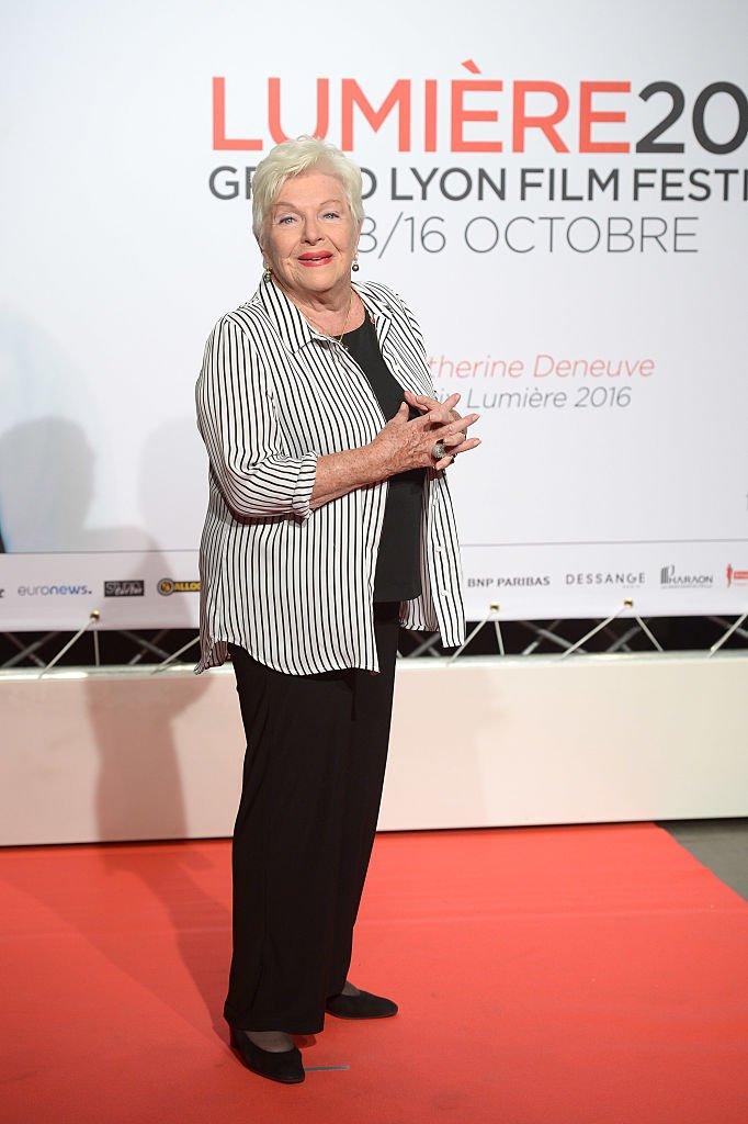 Line Renaud au Festival Lumière de Lyon en 2016. l Source : Getty Images