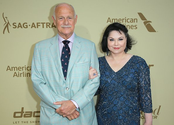 Gerald McRaney and Delta Burke at the Waldorf Astoria Beverly Hills on September 14, 2017 in Beverly Hills, California. | Photo: Getty Images