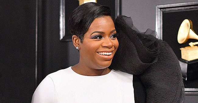 Fantasia Smiles Dressed in a White Robe — See the Photo That Has Fans Thinking She's Pregnant
