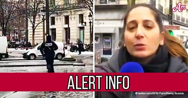 Paris : Un braquage de banque impétueux sur les Champs-Elysées (Vidéo)