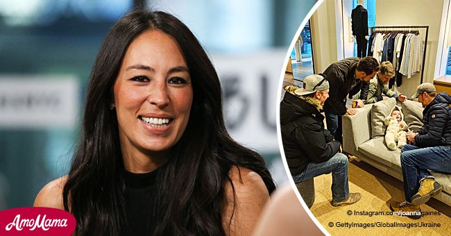Joanna Gaines' Candid New Photo of Baby Crew Causes an Adorable Reaction from Fans