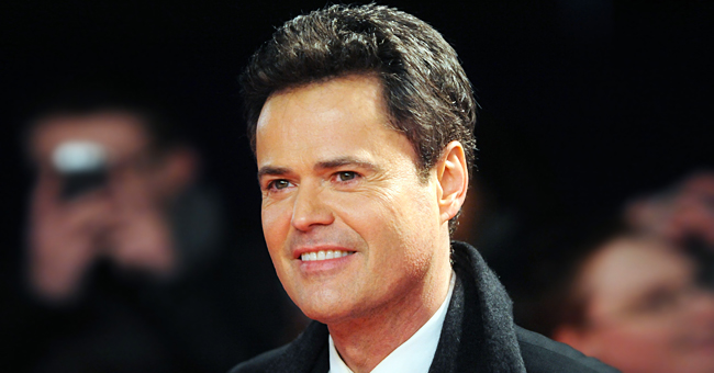 Donny Osmond Shares Throwback Photo of Himself and His Brothers Jimmy & Jay on Stage